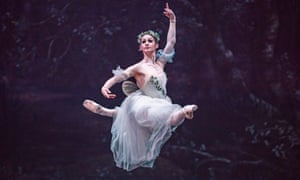 Laurretta Summerscales in Giselle by the English National Ballet.