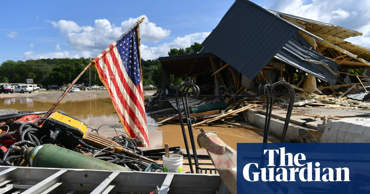 Tennessee floods death toll rises after homes and businesses destroyed – video