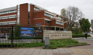 St George's hospital in Tooting, where Vasco-Knight was chief operating officer before taking over from Miles Scott.