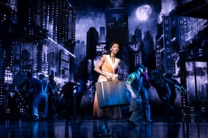 Christiani Pitts is a farm girl trying to make it as a Broadway hoofer.