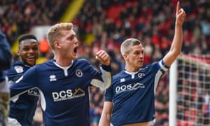 Millwall, here celebrating the equaliser by Steve Morison, right, in last Saturday's 1-1 draw at Sheffield United, have not lost in the league since New Year's Day.
