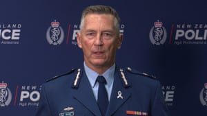 NZ Police Commissioner Mike Bush speaks to media in Wellington on Sunday, March 17, 2019.
