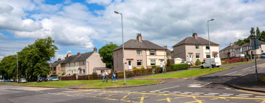 'My God, this is Airdrie' … the streets of the hotspot.