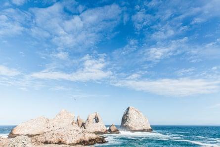 The Farallon Islands, a remote spot some 30 miles off the coast of San Francisco.