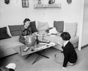 Simone de Beauvoir talks to Cynthia Judah in her Montparnasse flat.
