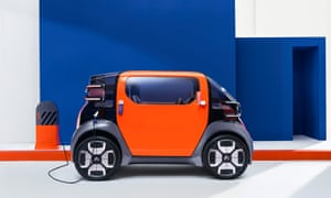 Fully charged: the Citroën Ami One prototype flashes forward to what we might be driving in the future.
