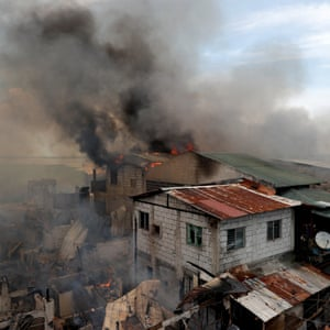 Thesis Essay Example Burning Houses In A Residential Neighbourhood In An Informal Settlement In  Muntinlupa Metro Manila Genetically Modified Food Essay Thesis also Sample High School Admission Essays Firefighting In Manilas Tinderbox Slums  A Picture Essay  World  Examples Of An Essay Paper