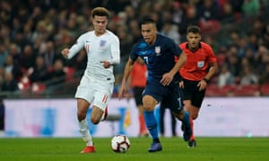 Dele Alli: 'It didn't take long to identify the positives after we lost to Croatia in the World Cup.'