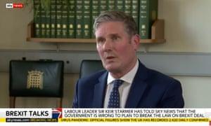 Keir Starmer on Sky News