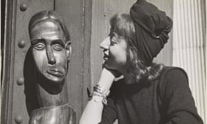 Lee Krasner in New York, c 1940.