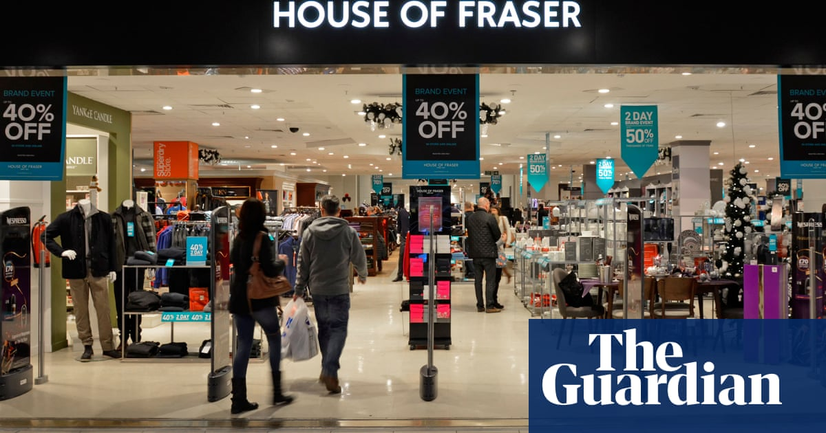 664bd3517fd72 Sports Direct deal saves four House of Fraser stores