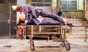 'Significance hovers randomly': Michelle Terry and Graham Butler in Cleansed.
