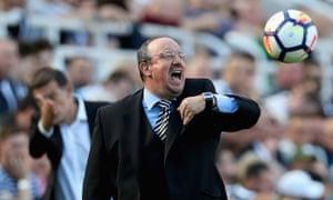 Rafael Benítez no longer regards his job at Newcastle as a long-term project.