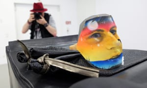 Mr Allied by Helen Marten at the Kunsthalle Fridericianum in Kassel, Germany.
