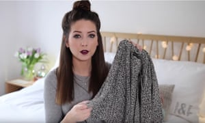 Zoella's YouTube channel
