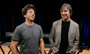 Google's co-founders Larry Page and Sergey Brin.