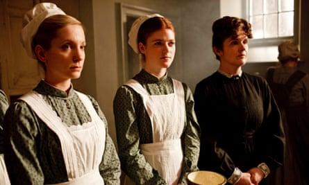 Social order … Downton Abbey.