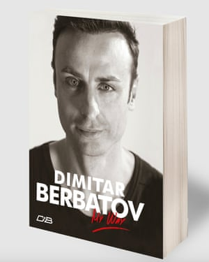 Dimitar Berbatov's book was written with the Bulgarian journalist Nayden Todorov and Dimitrina Hodgeva, the director of Berbatov's foundation.