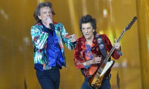 You can't always get what you want – including a seat on the train home ... Rolling Stones performing at Twickenham.