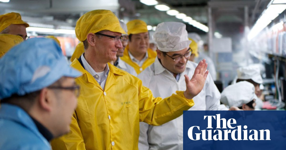 Apple uses more suppliers from China than Taiwan for first time, data shows