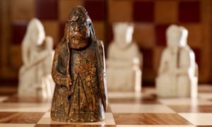 The newly discovered Lewis warder chess piece was missing for almost 200 years.