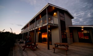 Greymouth Seaside Top 10 Holiday Park, Soutb Island, New Zealand