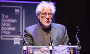 Michael Ondaatje speaks after being named the winner of the Golden Man Booker prize.