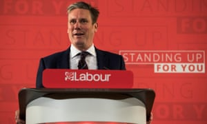 Shadow Brexit secretary Sir Keir Stammer delivers speech on Brexit<br>epa05926571 Labours Shadow Brexit secretary Sir Keir Starmer, delivers a speech on the Labour party's policy on Brexit, in Central London, Britain, 25 April 2017. British voters will go to the polls on 08 June 2017 after British Prime Minister Theresa May called a snap general election.  EPA/WILL OLIVER
