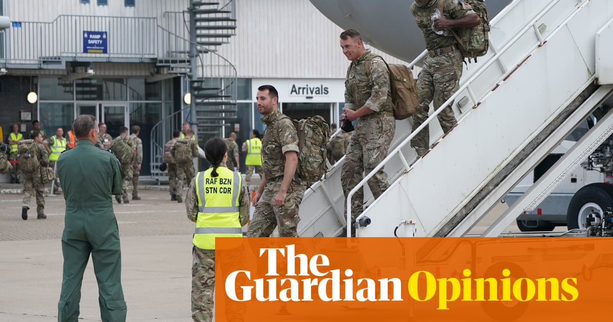 Britons want to blame anyone for chaos in Afghanistan – except ourselves