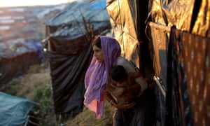 The refugee camp near Cox's Bazar, Bangladesh. The campaign has been described as 'a cynical ploy to forcibly transfer large numbers of people without possibility of return.'