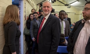 Jeremy Corbyn prepares to unveil some muddled thinking of his own at Paston Farm Centre, Peterborough.