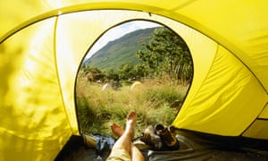 Ellen and her boyfriend have fallen in love with camping after spending most of the pandemic lockdown apart.
