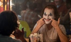 'Overblown' ... Joaquin Phoenix in Joker.
