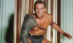 Kirk Douglas à Spartacus