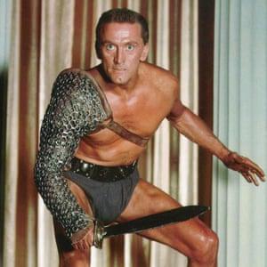 Kirk Douglas in Spartacus