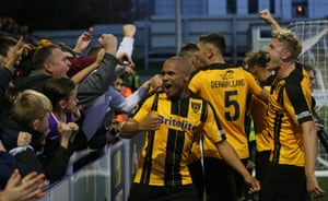 Maidstone's revival after going bust in the Football League