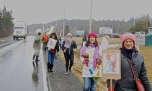 canada women's march