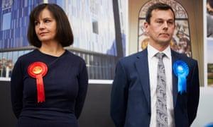 Labour's Caroline Flint, beaten by the Conservative's Nick Fletcher