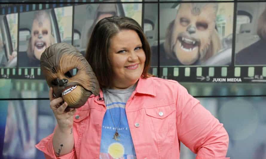 Chewbacca mask mum Candace Payne had an impact on Apple's app store charts