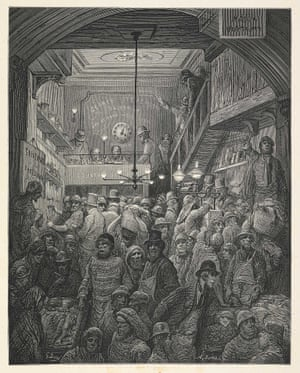 Billingsgate, early morning ... 'The opening of Billingsgate Market is one of those picturesque tumults which delight the artist's eye.'