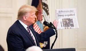Donald Trump described the occasion as a 'celebration'.