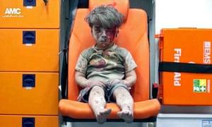 Last week's images of Omran Daqneesh, injured in Aleppo, 'stunned the world'.