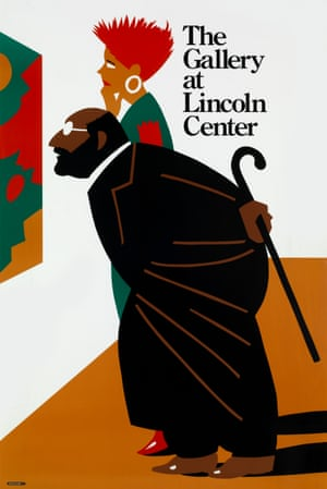 The Gallery at Lincoln Center poster by Milton Glaser