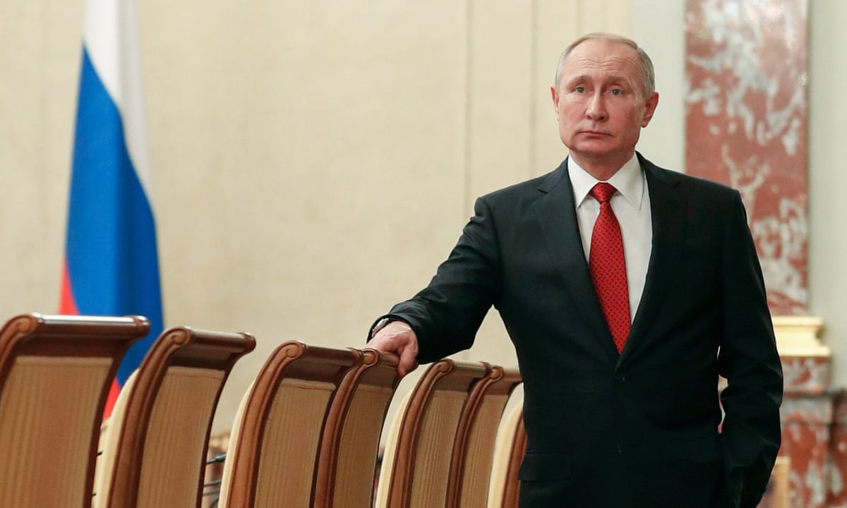 Vladimir Putin S Naked Power Grab Could Have Unexpected Benefits Vladimir Putin The Guardian