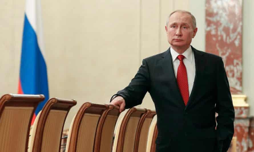 Vladimir Putin, 15 January 2020
