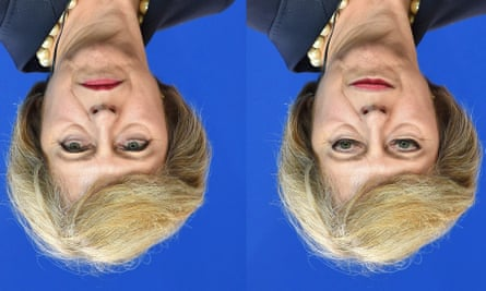 Theresa May version of the Thatcher illusion