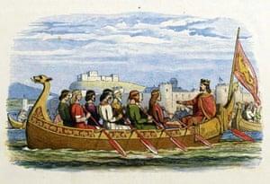 Edgar I, Anglo-Saxon king of England 959-975.