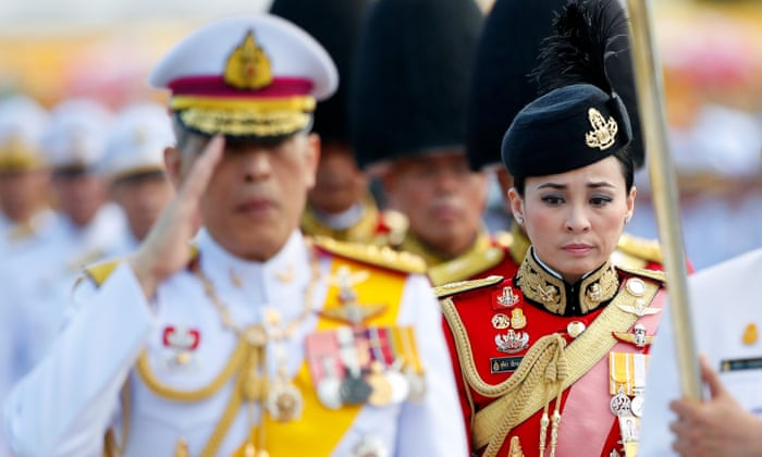 Thailand's King Maha Vajiralongkorn weds bodyguard in surprise