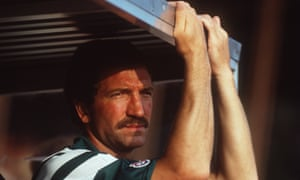 Liverpool manager Graeme Souness watches his team from the bench in 1991.