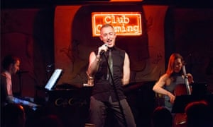 Alan Cumming performs his cabaret show in New York.